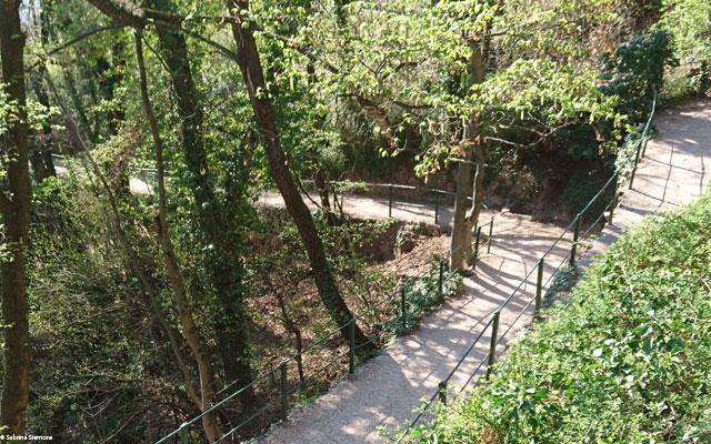 Wheelchair-Tours-Rollstuhl-Eisacktal-Gunschna-Promenade-Wegfuehrung