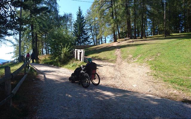 Wheelchair-Tours_Rollstuhl-Touren-Meran-Umgebung-Virgiljoch-Abzweigung-Wanderweg-34