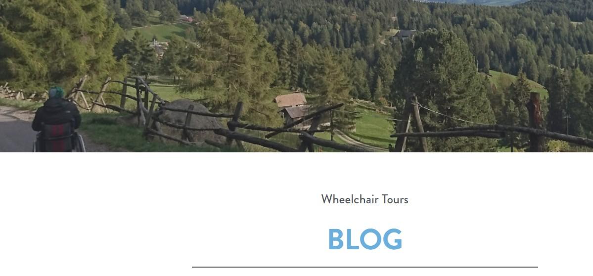Wheelchair Tours BLOG