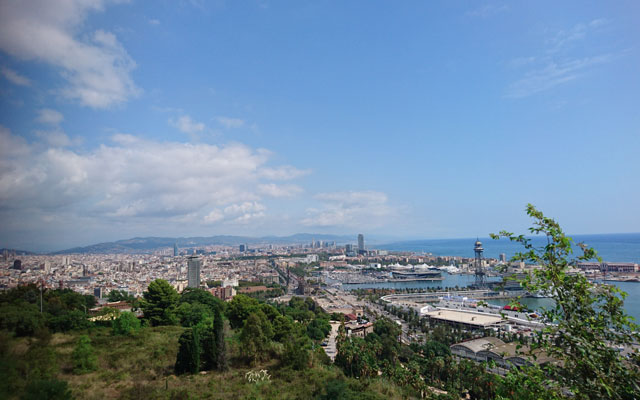 Wheelchair-Tours-Wheelchair-Blog-Contributions-Barcelona-View-Olympiaberg