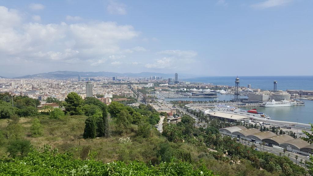 Wheelchair-Tours-Wheelchair-Blog-Contributions-Barcelona-View-Olympiaberg-von-Baumi