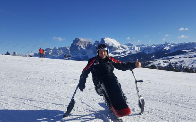 Wheelchair_tours_Rollstuhl_Südtirol_Alto_Adige_Ausstattung_Monoski_Puflatsch