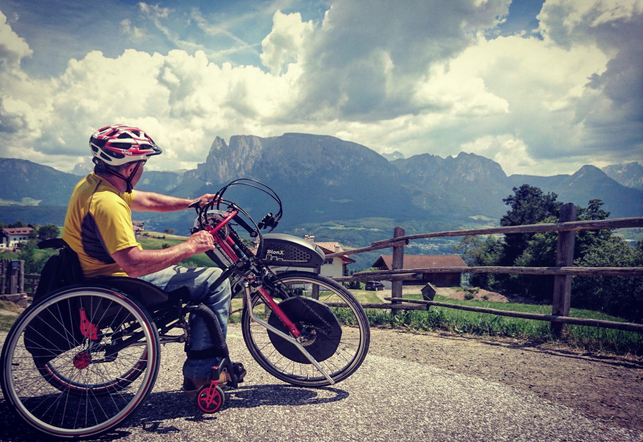 Sedia a rotelle_tours_Rollchair_Sport_Equipment_Handbike_Ritten_Renon_Schlern_Sciliar