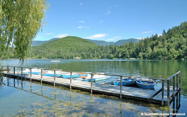 Grande lago Montiggl