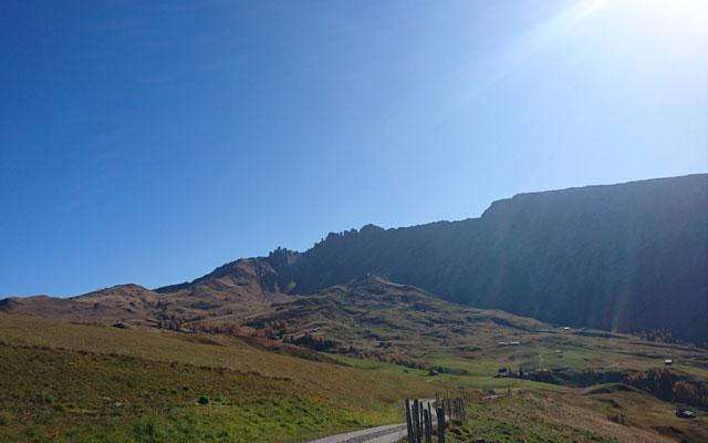 Weg vom Spiztbühl in Richtung Saltnerhütte