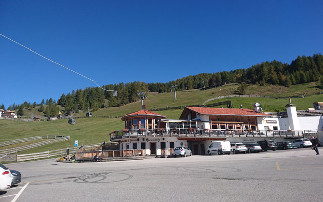 Mountain restaurant Bärenstube directly at the valley station