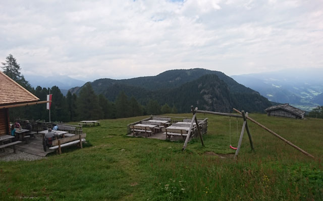 View from the alp