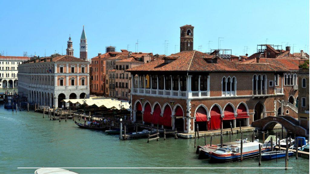 Mercato di Rialto Venezia